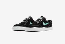 湖水绿细节点缀,Nike Zoom SB 滑板鞋全新配色即将发售