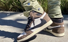還要再等等,Travis Scott x Air Jordan 1 五月登場