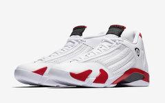 还是元年的味道,Air Jordan 14 白红下周发售!