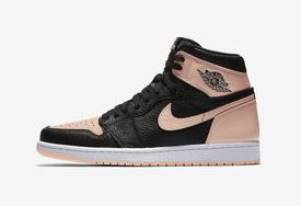 或將延遲發售,Air Jordan 1 黑粉腳趾官圖釋出