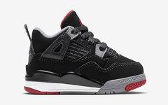"""还有萌萌的婴童版本, Air Jordan 4""""Bred"""" 不要错过了"""