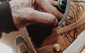 将在10月发布! Travis Scott x Nike Air Force 1 上脚不俗