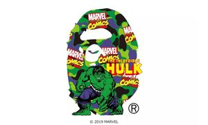 提前释出6款logo,A BATHING APE® x Marvel 联名发布在即