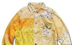 七种颜色可以挑选!KAPITAL 推出全新 Bandana 拼布夹克系列
