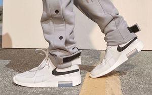 干净清爽又高级的配色!Nike Air Fear of God Raid 联名鞋款本周登场