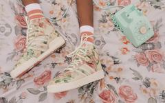 精致优雅的花卉图案,adidas RIVALRY全新配色现已发售