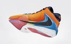 字母哥首款签名鞋最新谍照曝光,Nike Zoom Freak 1或将发售