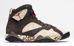 更多细节曝光!Patta x Air Jordan 7 六月登场