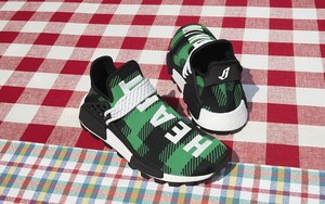 黑色格纹元素加持!菲董联名 adidas NMD Hu 全新 BBC 别注系列上架