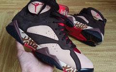 又一款穿搭利器!Patta x Air Jordan 7 更多细节曝光