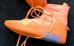 橙色 Nike Air Fear of God 1 有点抢眼!你会考虑入手吗