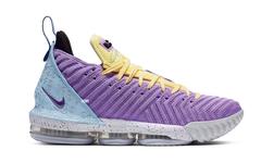 "湖人配色来袭!全新 Nike LeBron 16""Lakers"" 下周登场"