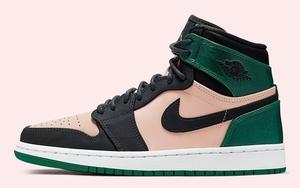 黑粉脚趾加点绿?全新的 Air Jordan 1 即将登场