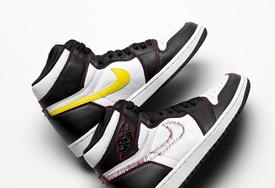 最终实物或已成型?Air Jordan 1 拆线鞋款最新实物图曝光