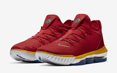 """超人主题又来了!全新的 Nike LeBron 16 Low""""SuperBron"""" 即将发售"""