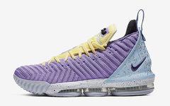 官图释出!全新湖人配色 Nike LeBron 16 本周登场