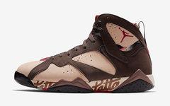 即将登场!全新的 Patta x Air Jordan 7 你打几分?