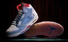重磅来袭!Trophy Room x Air Jordan 5 冰蓝即将发售