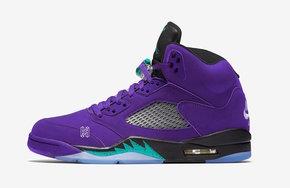 """原来是反转黑葡萄!全新的 Air Jordan 5""""Alternate Grape"""" 期待一下"""