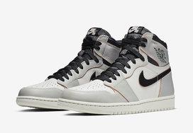 """官方图片曝光!Nike SB x Air Jordan 1 """"Light Bone"""" 下周发售"""