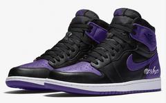 期待一下!全新演绎的黑紫 Air Jordan 1 明年发售