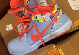 鞋王的日常曬鞋,塔克曝光一款 Nike Kobe 4個人專屬配色