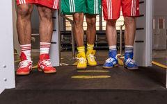 红黄蓝组合有点抢眼!Oyster Holdings x adidas 2019 春夏联乘系列释出