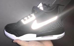 3M 反光鞋舌和 Swoosh 太亮了!黑水泥 Air Jordan 3 Tinker 八月登場