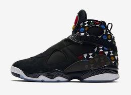 """彩色几何图案加持!全新的 Air Jordan 8 """"Quai 54"""" 有点抢眼"""