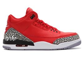 """活力满满的大红装扮!全新 Air Jordan 3 """"Chicago All-Star"""" 明年全明星周末登场"""