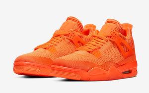 官圖釋出!橙色編織版 Air Jordan 4 本周登場