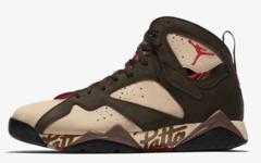 不要错过了!Patta x Air Jordan 7 本周正式亮相