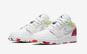 彩色色塊+彩色迷彩!最近的 Air Jordan 1 Low 怎么都那么好看