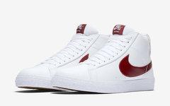 """后跟鞋標亮了,Nike SB Blazer """"Team Red"""" 即將發售"""