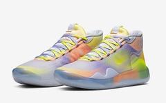 獨特的幻彩鞋面!Nike KD 12 EYBL 第三款配色曝光