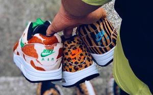"""長頸鹿紋,豹紋和斑馬紋加持!atmos x Nike Air Max 1 """"Animal 3.0"""" 即將來襲"""