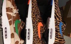 """独特又好看的动物元素加持!atmos x Nike Air Max 1""""Animal 3.0 Pack"""" 即将亮相"""