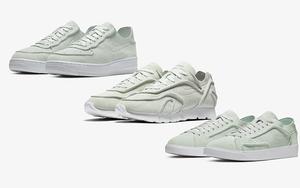 解构风+翻毛皮!Nike Decon 系列清新又精致