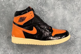 "前所未见的褶皱漆皮加持!全新的 Air Jordan 1 ""Shattered Backboard 3.0"" 气质不俗"