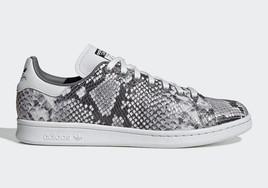 """超有艺术感的蛇纹元素!adidas Stan Smith""""Snakeskin"""" 下周发售"""