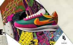 发售日期推迟?人气联名 sacai x Nike LDWaffle 九月登场