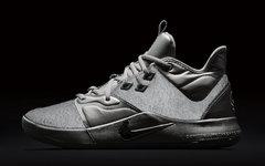 """银色反光NASA主题!全新的 Nike PG 3""""NASA"""" 科幻感强烈"""