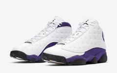 """官图释出!不要忘了本月的这款 Air Jordan 13""""Lakers"""""""