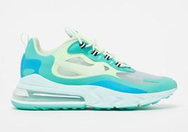 精致的玉石绿蝉翼鞋面,Nike Air Max 270 React新配色下周发售