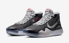 经典黑水泥配色加持!全新的 Nike KD 12 本周登场
