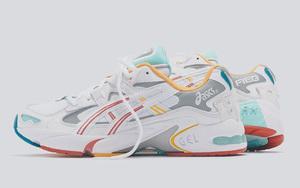 清新夏日气息!ASICS 携手 Ronnie Fieg 推出联名 Kayano 5 鞋款