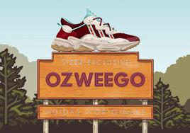 将俄勒冈州的奥斯威戈湖美景注入!size? x adidas Ozweego 颜值不凡