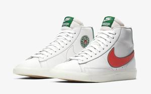 """还有一款被""""漏掉""""的要登场了!《怪奇物语》 x Nike Blazer Mid 明天发售"""
