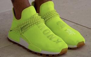妥妥的吸睛利器!荧光绿配色 adidas NMD Hu 上脚美照曝光