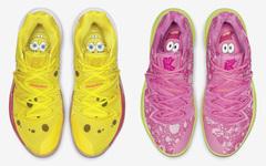 超萌《海绵宝宝》联名!两款全新 Nike Kyrie 5 下月登场